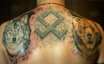 Татуировки обереги: славянские, буддийские, тибетские, индейские