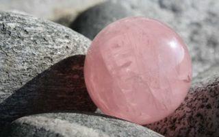Описание розового кварца и украшения из камня