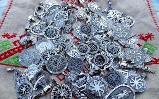 Славянские обереги из серебра и их значение