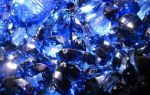 Синие камни: драгоценные и полудрагоценные минералы, кольца с самоцветом, список оттенков, фото