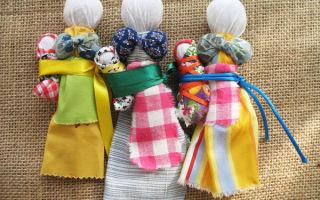 Изготовление народных кукол-оберегов: пошаговая инструкция для начинающих