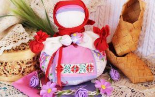 Куклы обереги: мастер-класс, как сделать, можно ли дарить