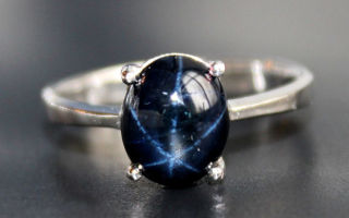 Звездчатый сапфир: особенности камня