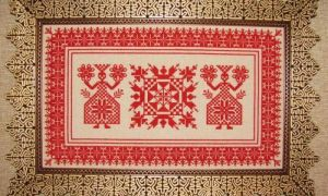 Вышиваем славянский оберег крестиком