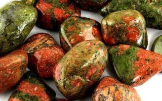 Минерал унакит: свойства камня, кому подходит, значение
