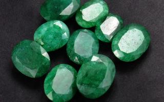 Как называются драгоценные камни зеленого цвета: фото