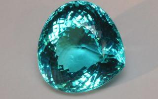 Турмалин Параиба – камень небесной синевы