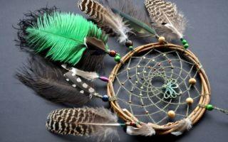 Пошаговая схема плетения ловца снов: 4 мастер-класса, фото, видео