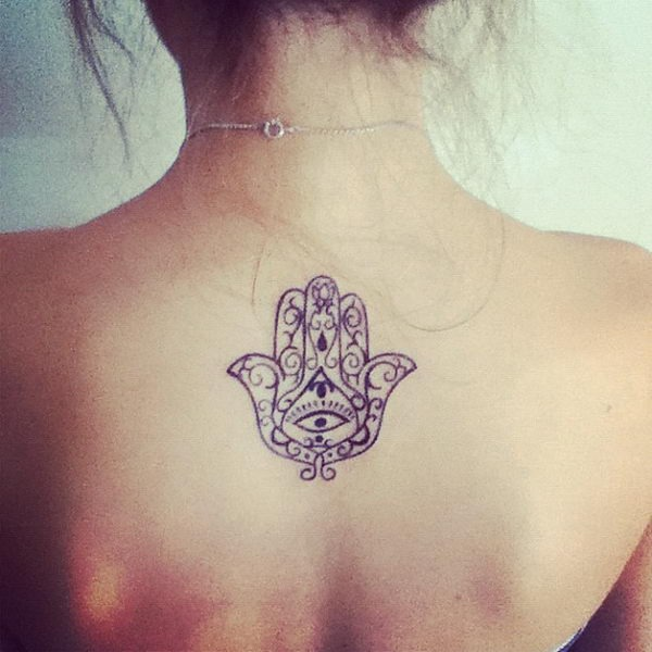 """Татуировка """"Рука Фатимы"""""""