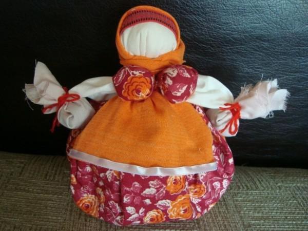 Кукла-оберег Кубышка-Травница