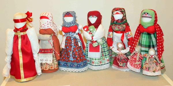 Народные куклы-обереги