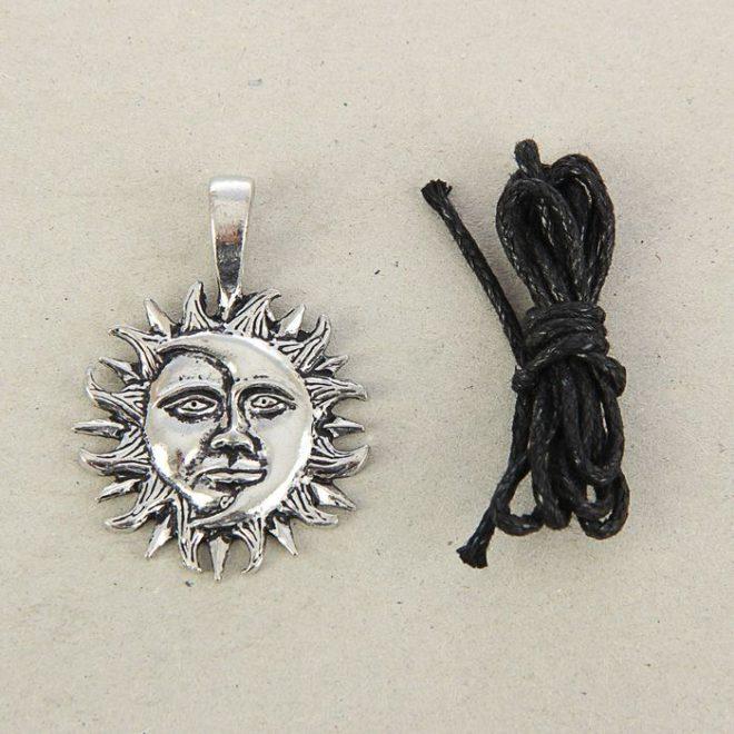 """Амулет """"Солнце и Луна"""""""