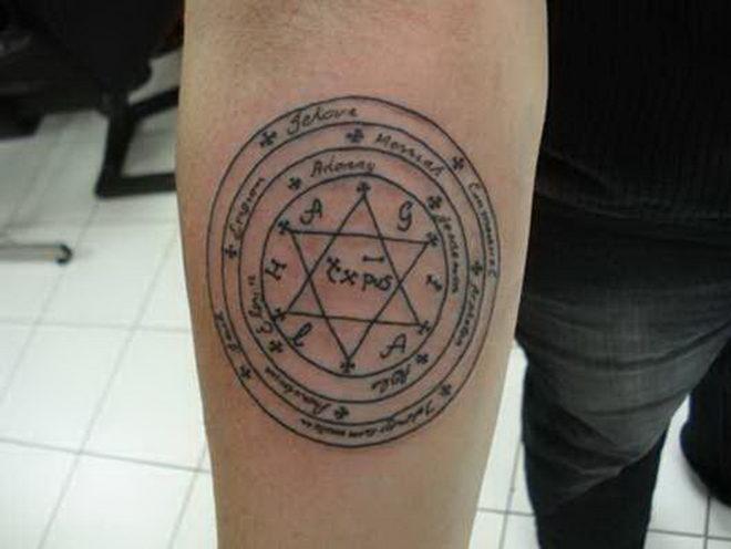 """Татуировка """"Печать царя Соломона"""""""