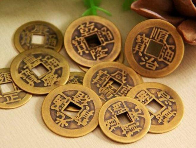 Монета счастья Фен Шуй
