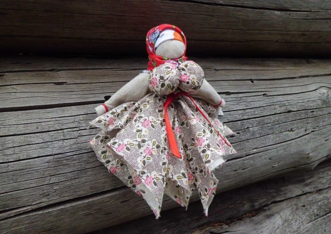 Вепсская кукла-оберег