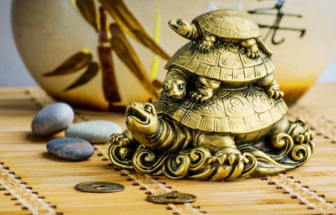 Три черепахи