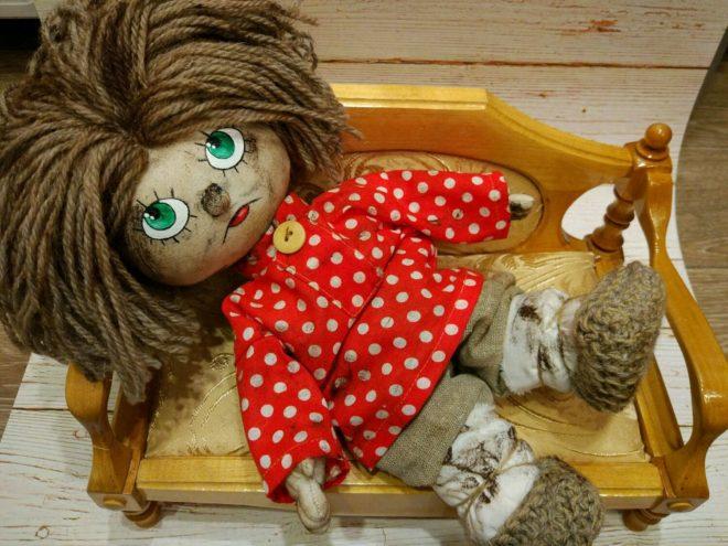 Кукла оберег своими руками домовой