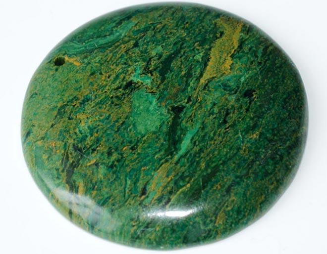 Зелёная яшма