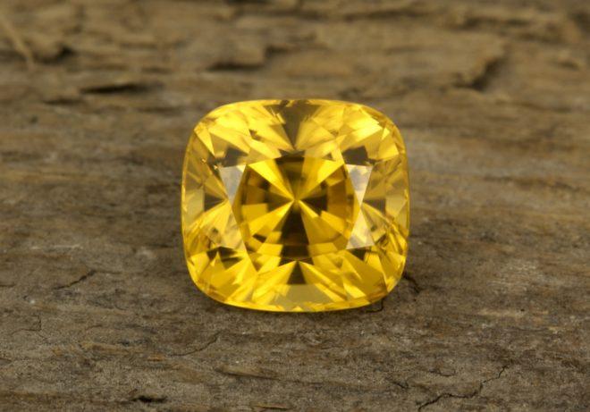 Жёлтый Циркон